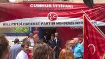 Başbakan Yıldırım, MHP Menderes İlçe Teşkilatını ve Menderes Belediyesini Ziyaret Etti