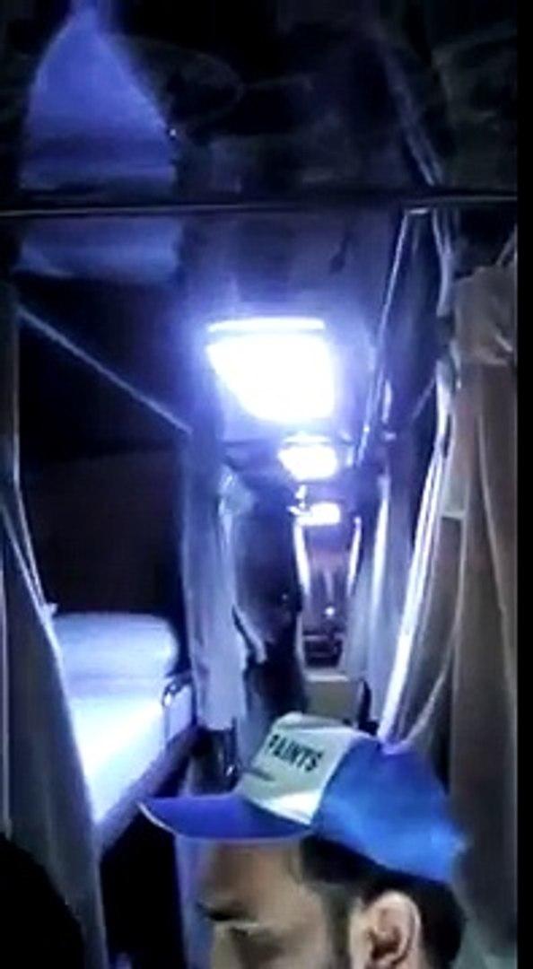 First time in Pakistani Daewoo Sleeper Bus service Karachi to Lahore