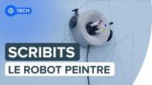 Scribit : un robot-peintre qui décore nos murs à volonté | Futura
