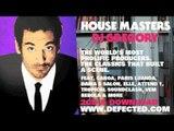 Defected presents House Masters DJ Gregory Mixtape