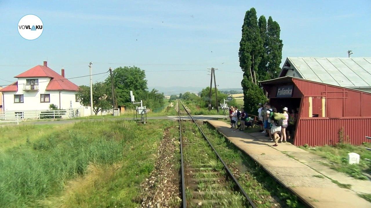 UNIKÁTNY VLAKOVÝ VIDEOPROJEKT: Z Prešova do Bardejova