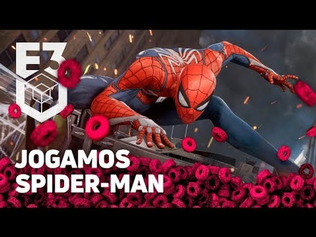 JOGAMOS SPIDER-MAN na E3 2018