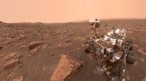 El Curiosity de la NASA manda un foto desde la tormenta de polvo de MARTE que ya es PLANETARIA