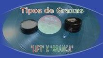 Explicação diferença entre Graxa Lift e Graxa branca para toca discos  Aqui mostramos a diferença da famosa graxa invertida graxa lift usada exclusivamente em toca discos e tape deck