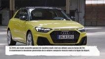 Nouvelle Audi A1 Sportback - compagnon idéal pour un style de vie urbain