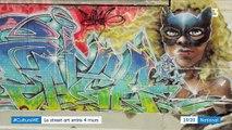 Culture : le street art s'invite dans les galeries d'art