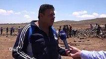 حركة نزوح للأهالي باتجاه مخيمات #القنيطرة الحدوديةتقرير : محمد فهد#أورينت #سوريا