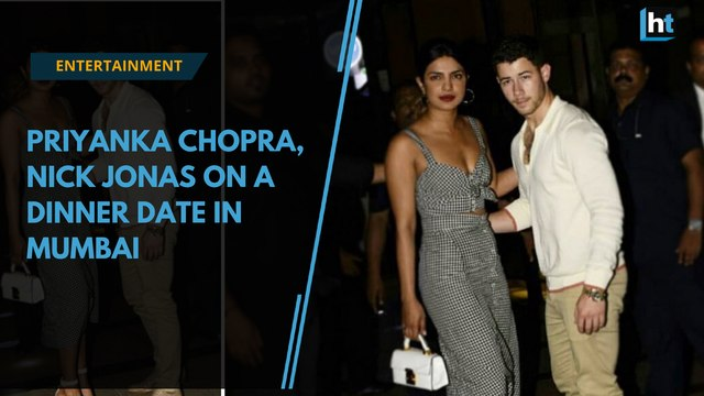 Watch: Priyanka Chopra, Nick Jonas on a dinner date in Mumbai