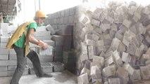 Waste Management : Aligarh Municipal Corporation makes bricks using garbage | Oneindia News