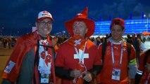 Le coin des supporters - Une victoire sur le fil et les fans suisses aux anges