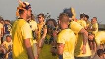 Le coin des supporters - Les fans suédois sont prêts à éliminer l'Allemagne