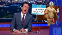 Late Show with Stephen Colbert S01 - Ep13 Andrew Sullivan, Maria Shriver, Jim... HD Watch