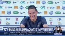 Le fou rire de Florian Thauvin après une question sur son manque de jeu avec les Bleus ⚽