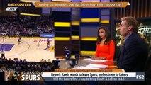 Skip Bayless Goes Off On Kawhi Leonard Going to LA With LeBron-Ruin The NBA!