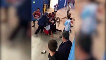 Des supporters Croates agressés par des supporters argentins !
