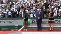 Simona Halep ended years of heartache to clinch her first Grand Slam title with 3-6 6-4 6-1 victory over American Sloane Stephens in the French Open final