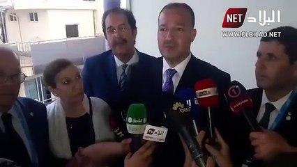le MJS, Hattab confirme le limogeage de Madjer (Vidéo)