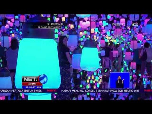 Museum Digital Canggih Berkonsep Tanpa Batas di Tokyo - NET12