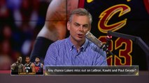 Colin Cowherd on Curry's Warriors ruining NBA Draft, Paul George saving Lakers | NBA | THE HERD