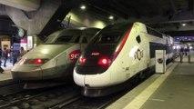 TGV 24000 ( TGV Atlantique ) et TGV 2N2 ( RGV 2N ou EuroDuplex ) - LGV Atlantique - Paris  Montparnasse