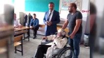Amasya 104 Yaşında Tekerlekli Sandalyeyle Sandık Başına Gitti Hd