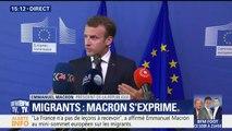 """""""La France n'a de leçons à recevoir de personne"""", déclare Macron au mini-sommet européen sur les migrants"""
