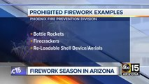 Local Red For Ed nears Arizona deadline; fireworks fire danger; weather cooldown