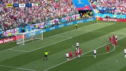 England 6-1 Panama     ( World Cup RUSSIA 2018 )