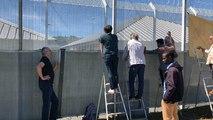 Parloir sauvage au Centre de rétention administrative