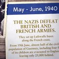 Invaded in June 1940, the Channel Islands were the only British territory to be occupied by the Germans during World War II.  The Guernsey Literary and Potato