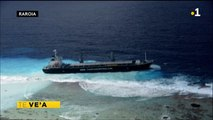 TH : Echouement d'un cargo à Raroia : aucun blessé
