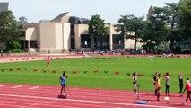 Régionaux de Normandie 2018 à Caen 200m Adrien Péralta