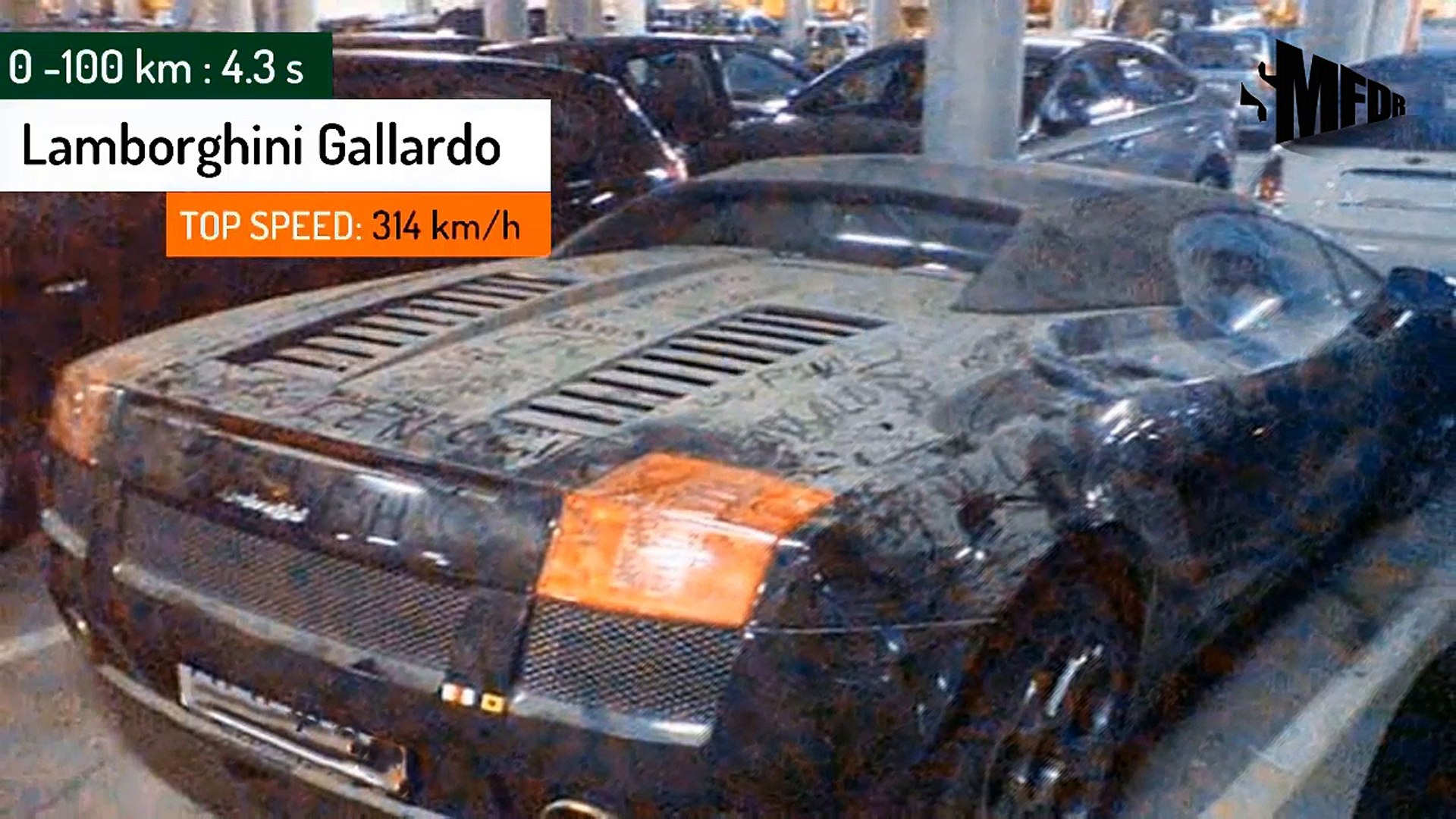 15 Most Expensive Cars Abandoned In Dubai Airport Video Dailymotion