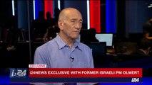 Olmert reflects on Gaza under his premiership