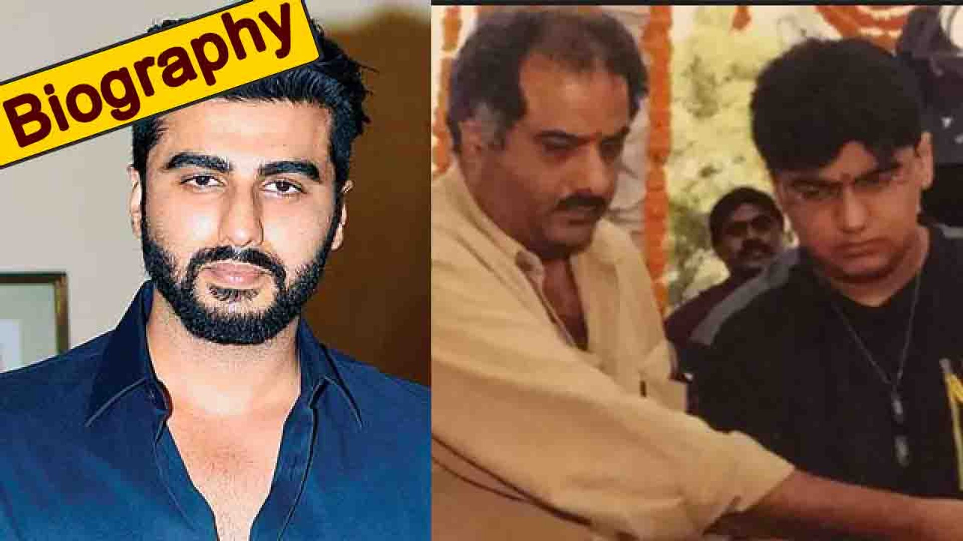 Arjun Kapoor B'Day: Biography   When Boney Kapoor once thought he is gay   Unknown facts । Film