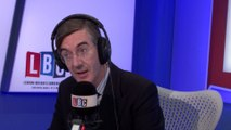 Jacob-Rees Mogg Takes Caller To Task Over Brexit Dividend