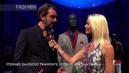 CC CORNELIANI Interview with STEFANO GAUDIOSO TRAMONTE   Pitti 94 Firenze - Fashion Channel