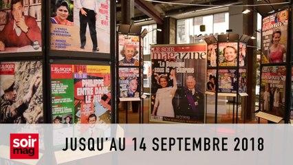 L'expo Soir mag prolongée au cœur de Bruxelles