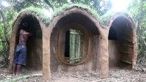 Primitive Technology - Build An Underground House ( Look Like Hobbit House)