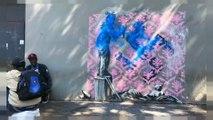 Sabotean en París varias obras de Banksy dedicadas a los refugiados