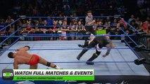 SCOTT STEINER HITS A TOP ROPE FRANKENSTEINER VS LAX! - IMPACT WRESTLING - WWE WWF Wrestling MMA Fighting Sports Match