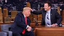 "Trump Slams Jimmy Fallon's Comments About 'Tonight Show' ""Hair Tussle"" Incident 
