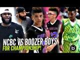 LEBRON JAMES Son Vs CARLOS BOOZER'S Sons! Bryce James vs Cayden & Cameron Boozer in Championship!