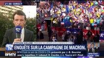 Campagne d'Emmanuel Macron: une enquête préliminaire a été ouverte après à une plainte d'élus de droite