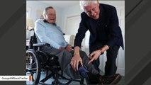 George H.W. Bush Shows Off His 'Bill Clinton' Socks In Viral Photo