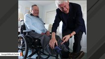 George H.W. Bush Shows Off His 'Bill Clinton' Socks In Viral Photo