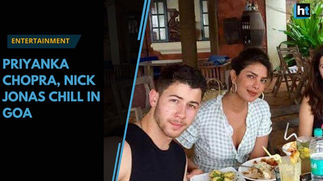 Watch | Nick Jonas and Priyanka Chopra enjoy Goa vacation