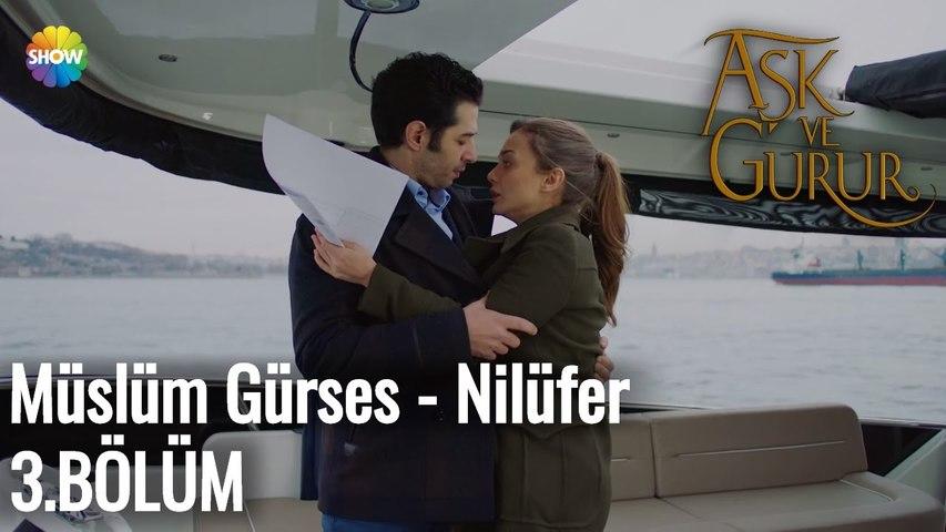 Aşk Ve Gurur 3.Bölüm   Müslüm Gürses - Nilüfer