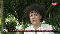Egalité femmes-hommes : reportage dans le Val d'Oise avec la sénatrice (LR) Jacqueline Eustache-Brinio