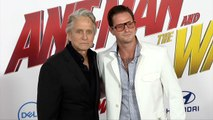 "Michael Douglas and Cameron Douglas ""Ant-Man and The Wasp"" World Premiere Red Carpet"